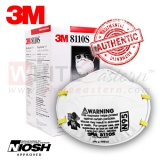 3M 8110S N95 Children Particulate Respirator Mask, 20 Pieces