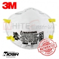 3M 8210 N95 Particulate Respirator Mask, 5 Pieces