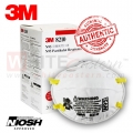 3M 8210 N95 Particulate Respirator Mask, 20 Pieces