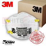 3M 8210 N95 Particulate Respirator Mask, 160 Pieces