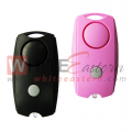 2-In-1 Squeeze Personal Alarm, with LED light