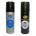 Pepper Spray, XA Black/Silver Series (60ml)