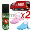 Pepper Spray Security Package 6 (60ML)