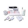 32 Wireless And 7 Wired Zones Auto Dial Home Alarm System
