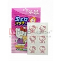 Anti Mosquito Repellent Patches Hello Kitty  Design, 24 Pieces