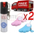 Pepper Spray Security Package 4