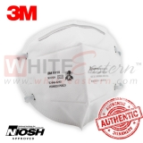 3M 9010 N95 Particulate Respirator Mask, 10 Pieces